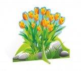 Декорация-тюльпаны-желтые