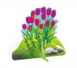 Декорация-тюльпаны-розовые